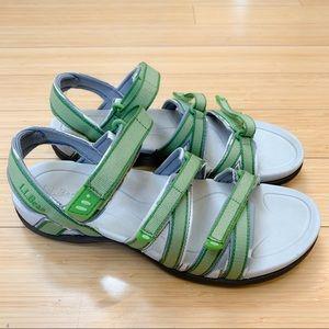 L.L. BEAN Boothbay waterproof Velcro sandals, 10.